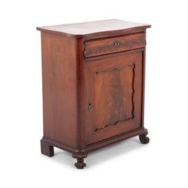 french mahogany cabinet fa1104