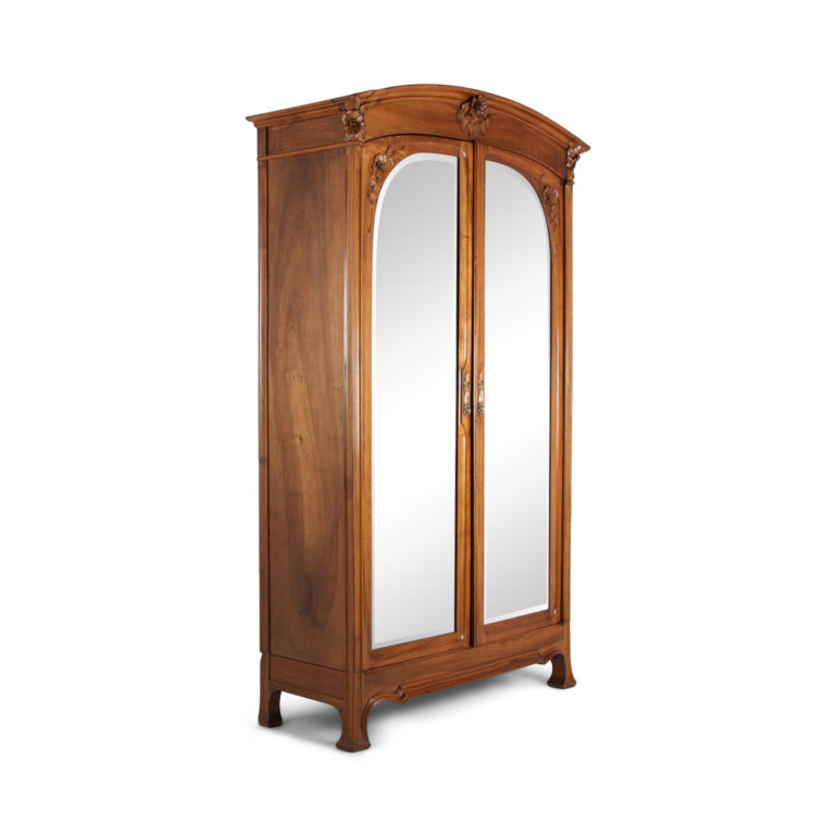 art nouveau armoire fa 1074a antique warehouse. Black Bedroom Furniture Sets. Home Design Ideas