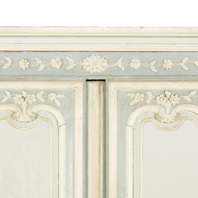 French 19th Century Painted Armoire Fb 1149 Antique
