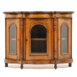 Victorian English Side Cabinet NL 6