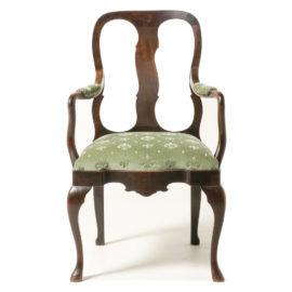 Dutch Queen Anne Style Armchair NL 22C