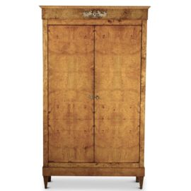 Vintage antique furniture wardrobe walnut armoire Baroque French Empire Burl Armoire Cdk Cefiximeus Antique Armoires Vancouver Antiques Vintage Furniture Antique