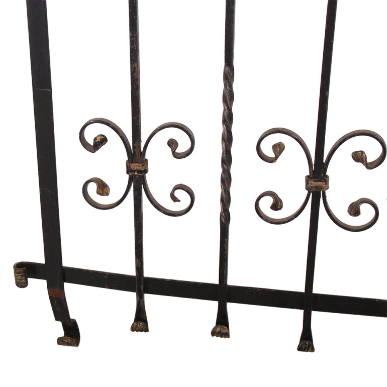 French Wrought Iron Coat Rack Fh 1612 Antique Warehouse